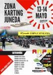 Cartel del evento 2ª prueba puntuable de la Copa Catalana