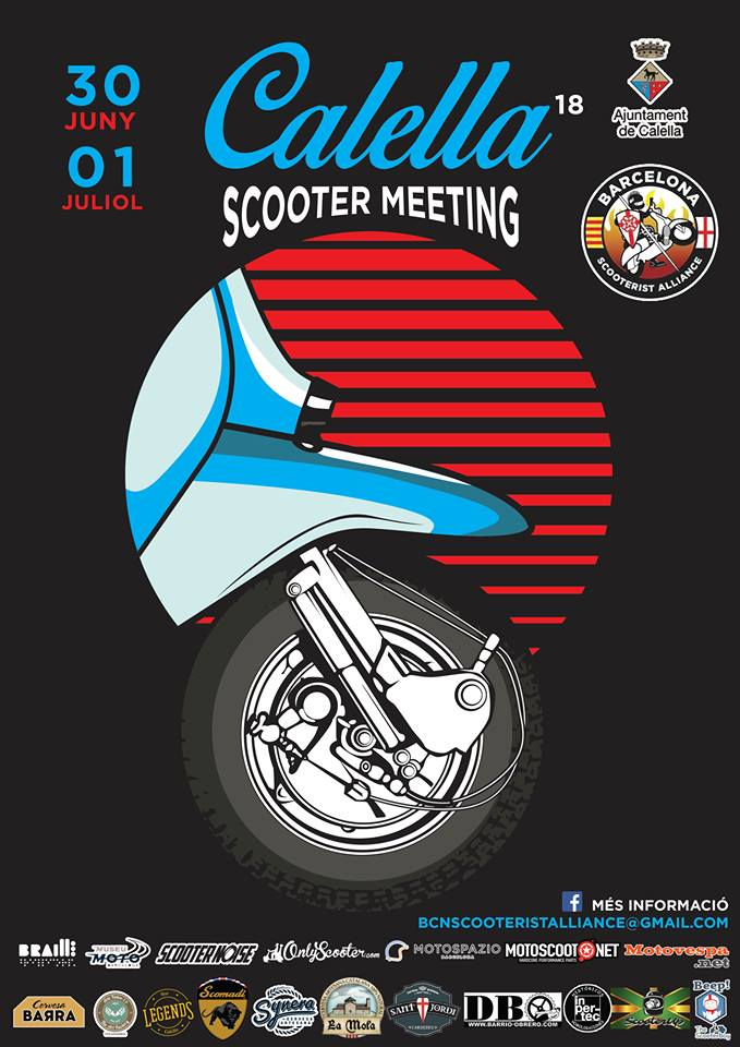 18th Calella Scooter Meeting