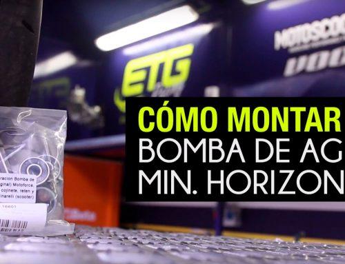 Reparación bomba de agua · Motor Minarelli horizontal