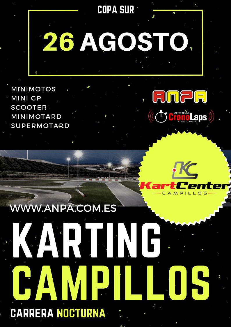 6ª Prueba Copa Sur Karting Campillos (Nocturna)