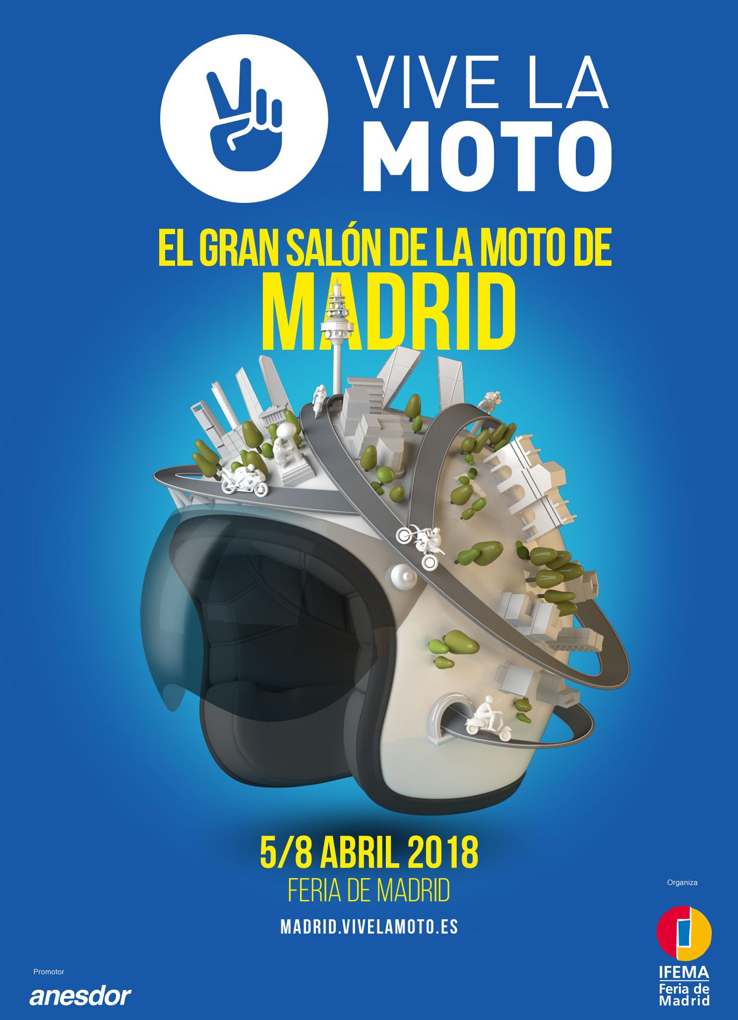 Vive la moto 2018 sal n de la moto de madrid blog de for Salon de la moto 2018