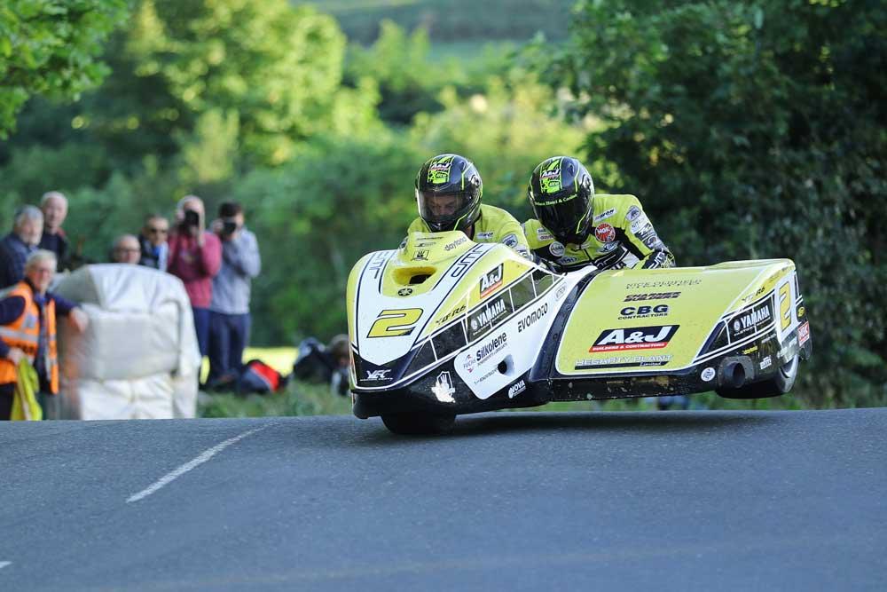 TT sidecar race