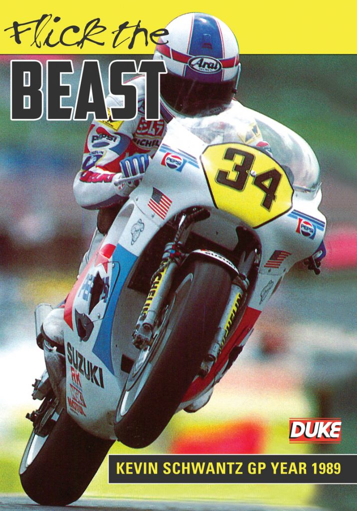 DVD Flick the Beast con Kevin Schwantz (1989)