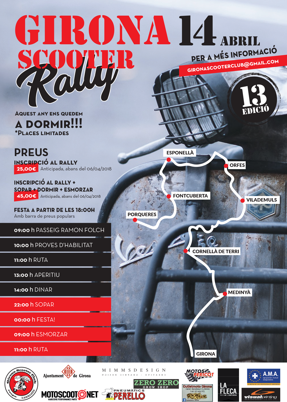Girona Scooter Rally 2018