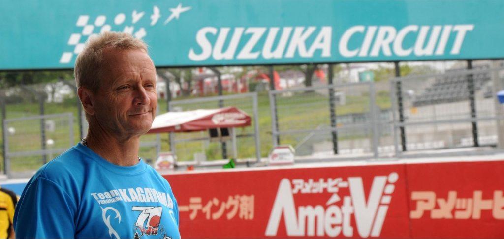 Kevins Schwantz en Suzuka