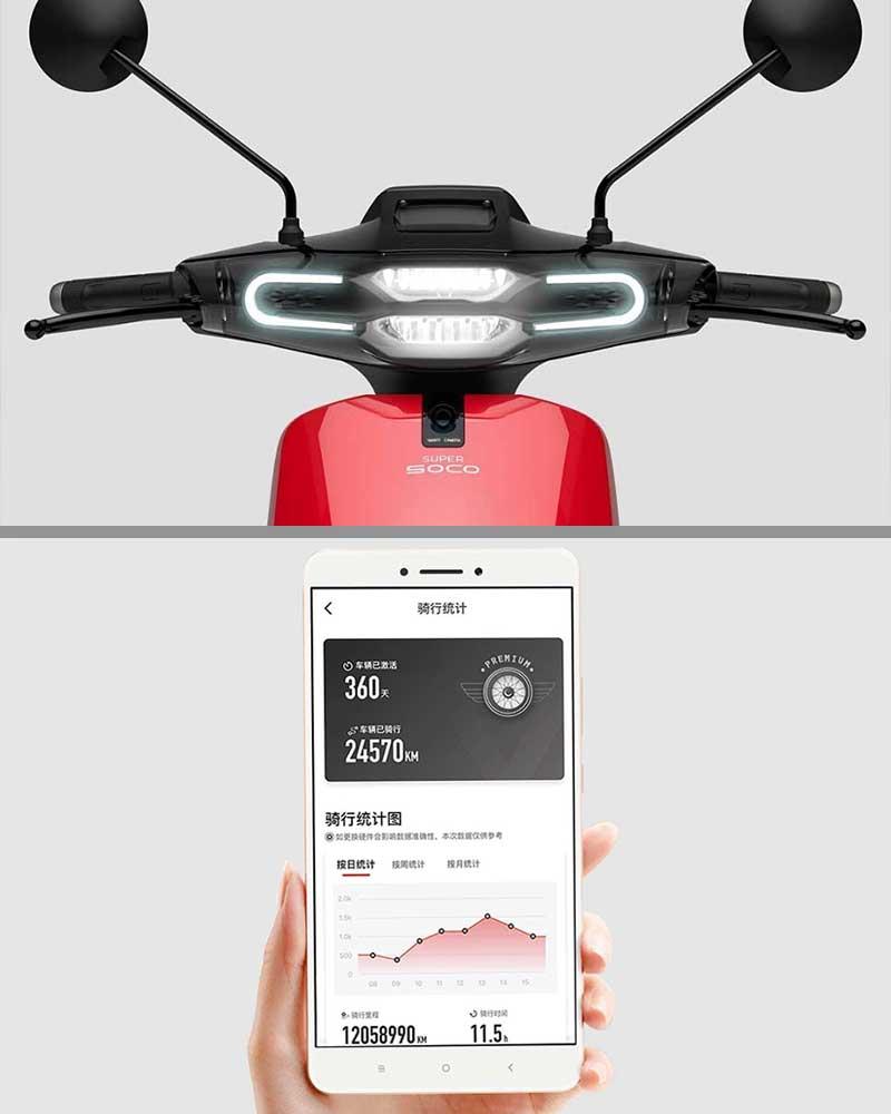 Xaomi super soco scooter eléctrica