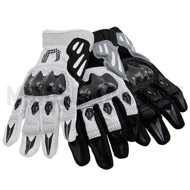 Los guantes de cuero resisten bien la abrasión