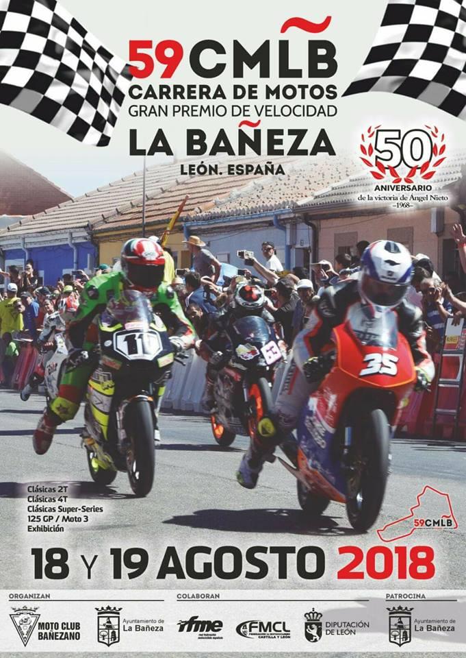 Gran Premio de Motociclismo de La Bañeza 2018