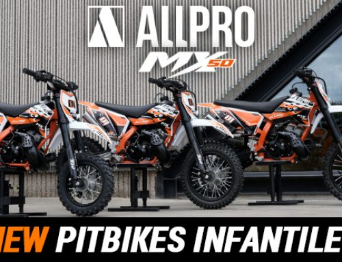 Nova pitbike réplica KTM Allpro MX