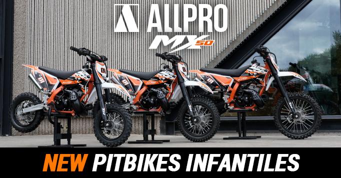 Nuevas Pitbikes AllPro MX 50
