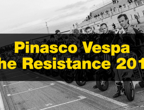 Pinasco Vespa The Resistance 2019