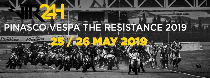 Pinasco Cartel Vespa the Resistance 2019