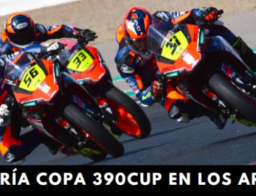 Copa 390Cup en el circuito de Los Arcos en Navarra