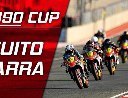 Galeria R4C KTM 390 Cup Circuito Navarra