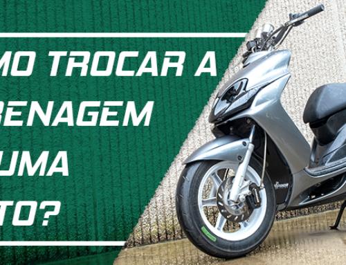 Como trocar as carenagens da Yamaha Jog RR?