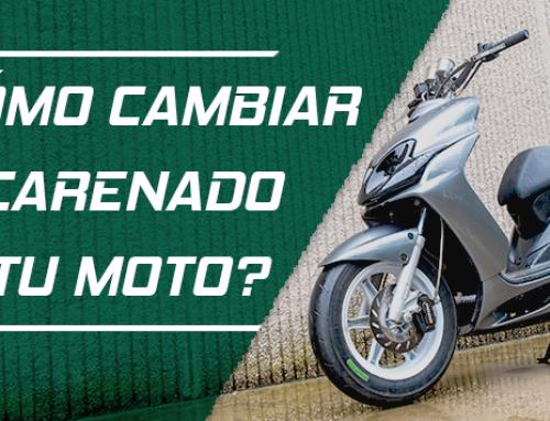 ¿Cómo cambiar el carenado de tu Yamaha Jog RR?