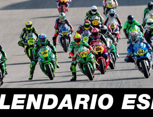 Calendario campeonato de España (ESBK)