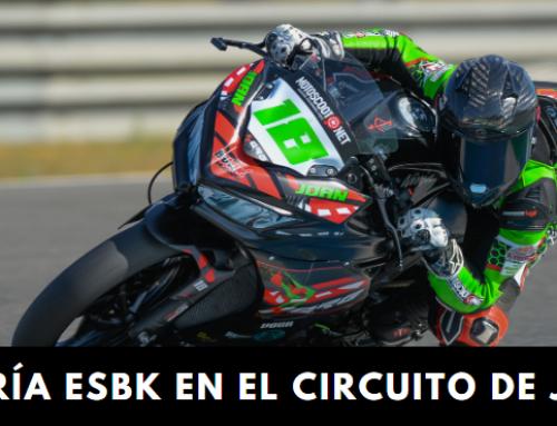 Galería ESBK Circuito de Jerez con Joan Santos