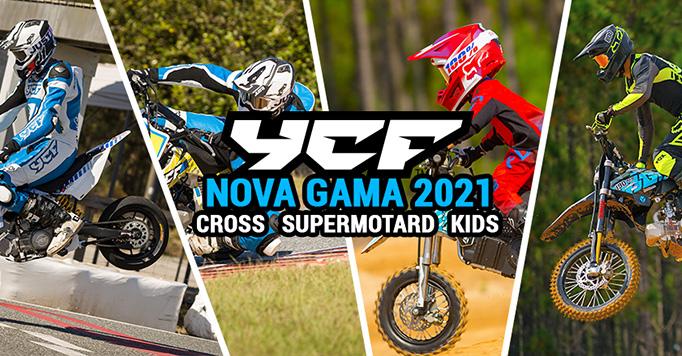 Nova gama Pitbikes YCF na Motoscoot