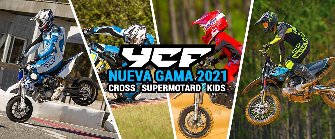 Nueva gama de pitbikes YCF
